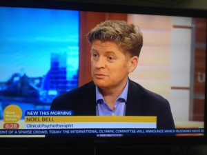 Noel Bell ITV Good Morning Britain